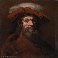 【超顶级】YHR131509011-荷兰现实主义画家伦勃朗Rembrandt17世纪最伟大的画家油画作品高清大图肖像画风景画风俗画宗教画-127M-5986X7434