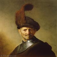 【打印级】YHR131509068-荷兰现实主义画家伦勃朗Rembrandt17世纪最伟大的画家油画作品高清大图肖像画风景画风俗画宗教画-39M-3296X4188