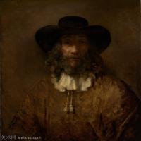 【打印级】YHR131509091-荷兰现实主义画家伦勃朗Rembrandt17世纪最伟大的画家油画作品高清大图肖像画风景画风俗画宗教画 32M-3166X3592