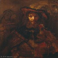 【打印级】YHR131509095-荷兰现实主义画家伦勃朗Rembrandt17世纪最伟大的画家油画作品高清大图肖像画风景画风俗画宗教画 -31M-2977X3716