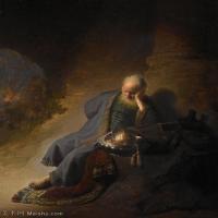 【超顶级】YHR131509017-荷兰现实主义画家伦勃朗Rembrandt17世纪最伟大的画家油画作品高清大图肖像画风景画风俗画宗教画-101M-5274X6702