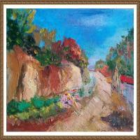 支紅油畫作品展覽(17)