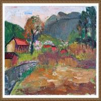 支紅油畫作品展覽(13)
