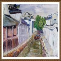 支红油画作品展览(19)