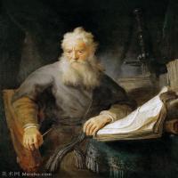 【打印级】YHR131509082-荷兰现实主义画家伦勃朗Rembrandt17世纪最伟大的画家油画作品高清大图肖像画风景画风俗画宗教画-34M-3114X3824