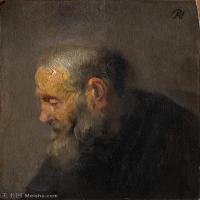 【超顶级】YHR131509012-荷兰现实主义画家伦勃朗Rembrandt17世纪最伟大的画家油画作品高清大图肖像画风景画风俗画宗教画-120M-5874X7176