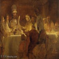 【超顶级】YHR131509010-荷兰现实主义画家伦勃朗Rembrandt17世纪最伟大的画家油画作品高清大图肖像画风景画风俗画宗教画-131M-8528X5392