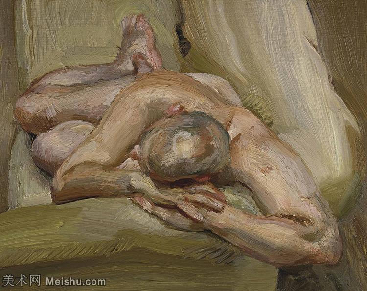 【打印级】YHR141059054--英国表现派绘画大师卢西安弗洛伊德Lucian Freud油画作品高清大图最贵画家卢