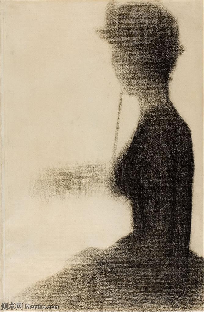 【欣赏级】YHR14114746-法国新印象主义点彩派画家乔治修拉Georges Seurat油画作品高清大图-20M-