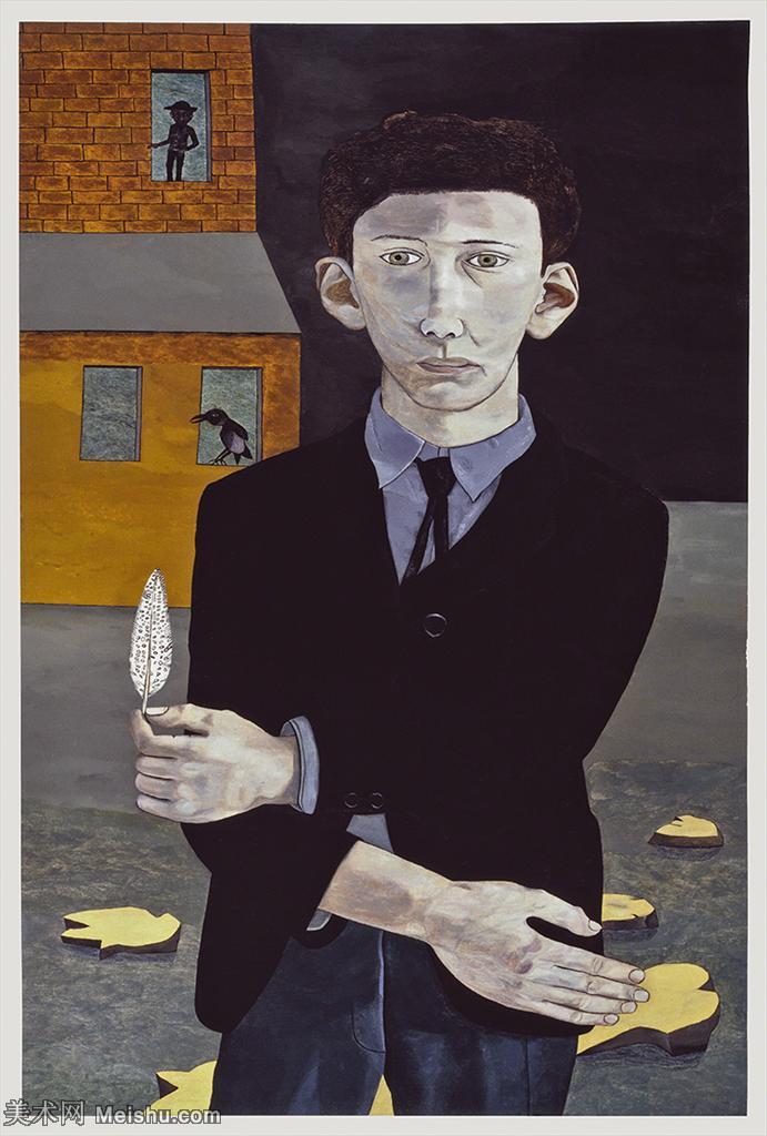 【打印级】YHR141059037--英国表现派绘画大师卢西安弗洛伊德Lucian Freud油画作品高清大图最贵画家卢