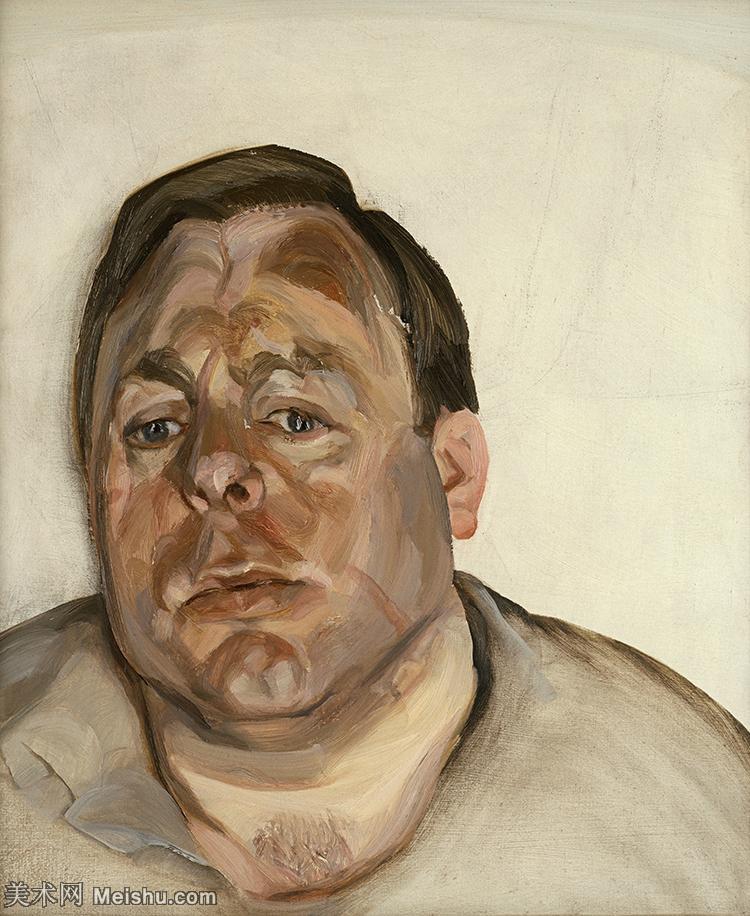 【打印级】YHR141059044--英国表现派绘画大师卢西安弗洛伊德Lucian Freud油画作品高清大图最贵画家卢