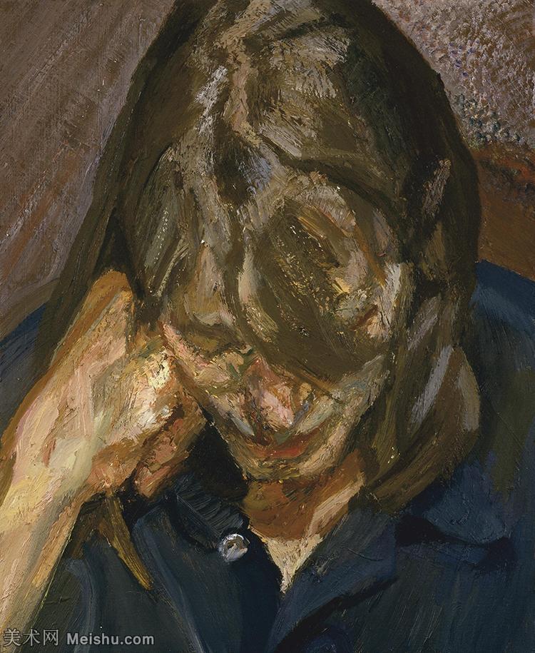 【打印级】YHR141059043--英国表现派绘画大师卢西安弗洛伊德Lucian Freud油画作品高清大图最贵画家卢