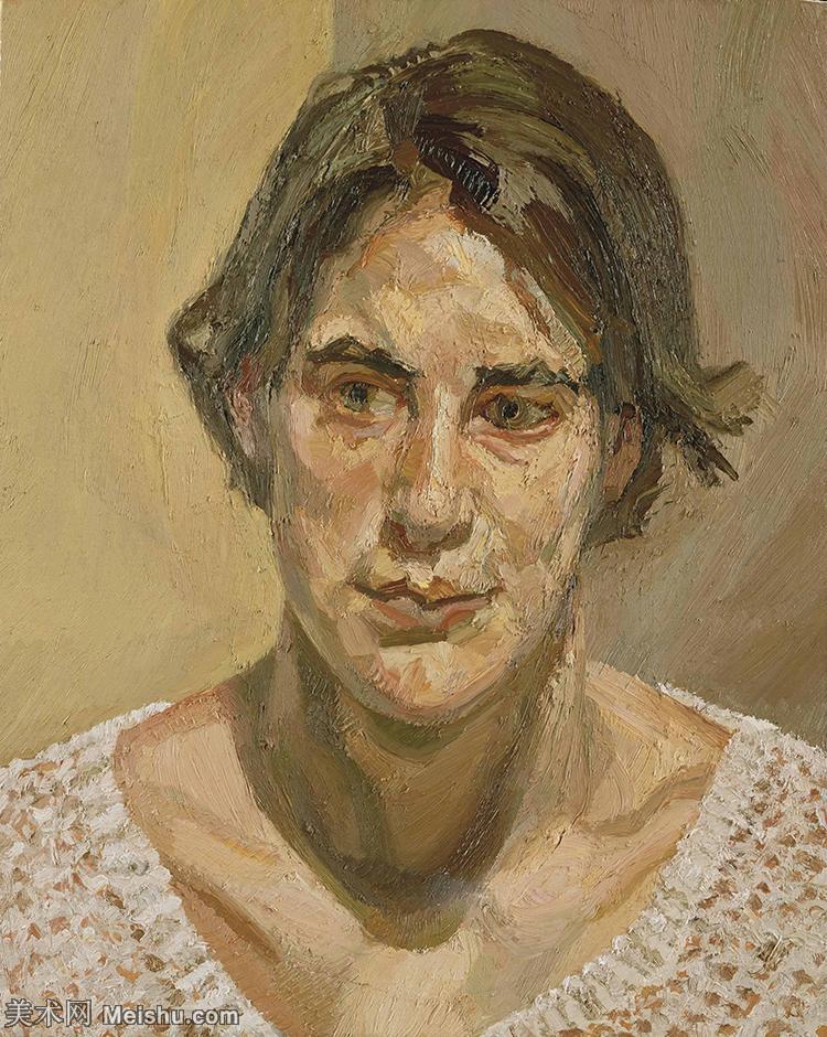 【打印级】YHR141059051--英国表现派绘画大师卢西安弗洛伊德Lucian Freud油画作品高清大图最贵画家卢