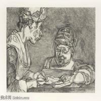 【打印级】YHR141059034--英国表现派绘画大师卢西安弗洛伊德Lucian Freud油画作品高清大图最贵画家卢西安弗洛伊德绘画作品高清图库-24M-3201X2691