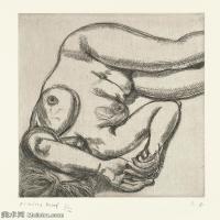 【打印级】YHR141059031--英国表现派绘画大师卢西安弗洛伊德Lucian Freud油画作品高清大图最贵画家卢西安弗洛伊德绘画作品高清图库-24M-2713X3201
