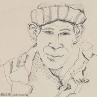 【打印级】YHR141059024--英国表现派绘画大师卢西安弗洛伊德Lucian Freud油画作品高清大图最贵画家卢西安弗洛伊德绘画作品高清图库-25M-2788X3200