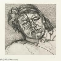 【打印级】YHR141059036--英国表现派绘画大师卢西安弗洛伊德Lucian Freud油画作品高清大图最贵画家卢西安弗洛伊德绘画作品高清图库-24M-2650X3201