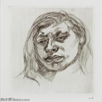 【打印级】YHR141059035--英国表现派绘画大师卢西安弗洛伊德Lucian Freud油画作品高清大图最贵画家卢西安弗洛伊德绘画作品高清图库-24M-2679X3200
