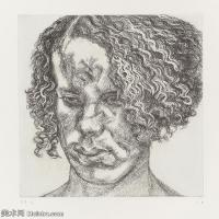【打印级】YHR141059013--英国表现派绘画大师卢西安弗洛伊德Lucian Freud油画作品高清大图最贵画家卢西安弗洛伊德绘画作品高清图库-26M-2946X3200