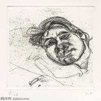 【打印级】YHR141059029--英国表现派绘画大师卢西安弗洛伊德Lucian Freud油画作品高清大图最贵画家卢西安弗洛伊德绘画作品高清图库-24M-2728X3200