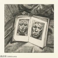 【打印级】YHR141059008--英国表现派绘画大师卢西安弗洛伊德Lucian Freud油画作品高清大图最贵画家卢西安弗洛伊德绘画作品高清图库-28M-3146X3200