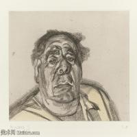【打印级】YHR141059030--英国表现派绘画大师卢西安弗洛伊德Lucian Freud油画作品高清大图最贵画家卢西安弗洛伊德绘画作品高清图库-24M-3202X2719