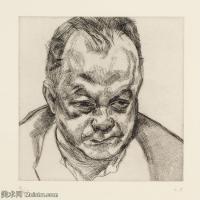 【打印级】YHR141059004--英国表现派绘画大师卢西安弗洛伊德Lucian Freud油画作品高清大图最贵画家卢西安弗洛伊德绘画作品高清图库-29M-3202X3185