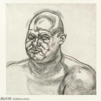 【打印级】YHR141059052--英国表现派绘画大师卢西安弗洛伊德Lucian Freud油画作品高清大图最贵画家卢西安弗洛伊德绘画作品高清图库-23M-2540X3200