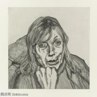 【打印级】YHR141059005--英国表现派绘画大师卢西安弗洛伊德Lucian Freud油画作品高清大图最贵画家卢西安弗洛伊德绘画作品高清图库-29M-3200X3180