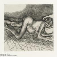 【打印级】YHR141059033--英国表现派绘画大师卢西安弗洛伊德Lucian Freud油画作品高清大图最贵画家卢西安弗洛伊德绘画作品高清图库-24M-3201X2700