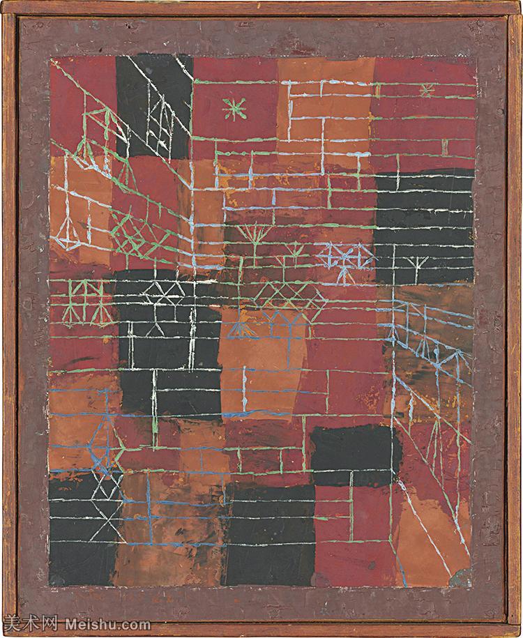 【欣赏级】YHR141112037-印象派画家保罗克利Paul Klee油画作品高清图片野兽派油画大师作品高清大图-17
