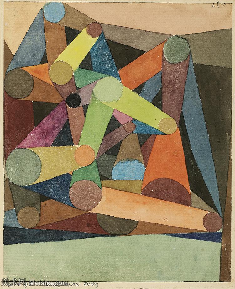 【欣赏级】YHR141112025-印象派画家保罗克利Paul Klee油画作品高清图片野兽派油画大师作品高清大图-18