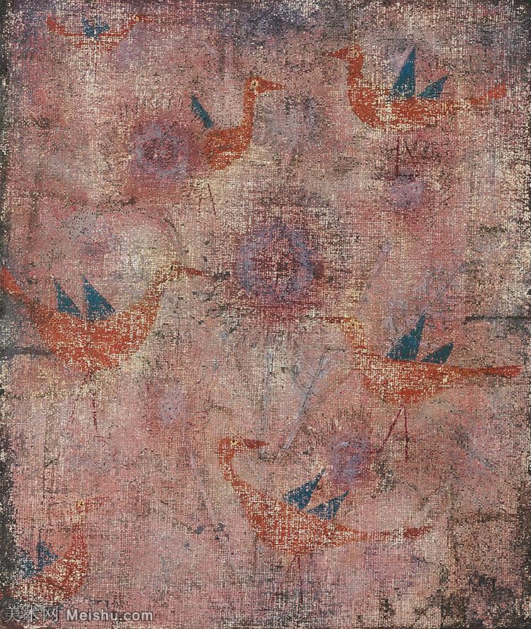 【欣赏级】YHR141112045-印象派画家保罗克利Paul Klee油画作品高清图片野兽派油画大师作品高清大图-14