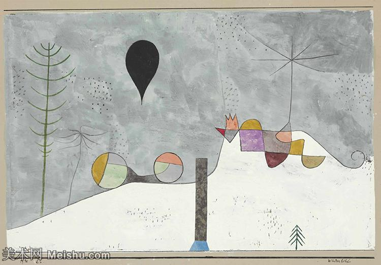 【欣赏级】YHR141112021-印象派画家保罗克利Paul Klee油画作品高清图片野兽派油画大师作品高清大图-20