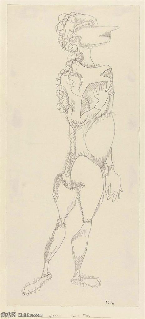 【欣赏级】YHR141112135-印象派画家保罗克利Paul Klee油画作品高清图片野兽派油画大师作品高清大图-3M