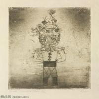 【欣赏级】YHR141112132-印象派画家保罗克利Paul Klee油画作品高清图片野兽派油画大师作品高清大图-4M-1165X1429
