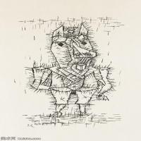 【欣赏级】YHR141112118-印象派画家保罗克利Paul Klee油画作品高清图片野兽派油画大师作品高清大图-7M-1247X2000