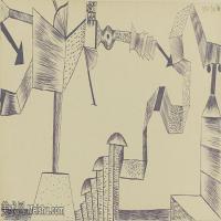 【欣赏级】YHR141112128-印象派画家保罗克利Paul Klee油画作品高清图片野兽派油画大师作品高清大图-5M-2000X1029