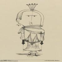 【欣赏级】YHR141112099-印象派画家保罗克利Paul Klee油画作品高清图片野兽派油画大师作品高清大图-7M-1361X2000
