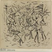 【欣赏级】YHR141112095-印象派画家保罗克利Paul Klee油画作品高清图片野兽派油画大师作品高清大图-7M-2000X1378