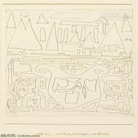 【欣赏级】YHR141112133-印象派画家保罗克利Paul Klee油画作品高清图片野兽派油画大师作品高清大图-4M-939X1613