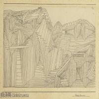 【欣赏级】YHR141112096-印象派画家保罗克利Paul Klee油画作品高清图片野兽派油画大师作品高清大图-7M-1990X1376