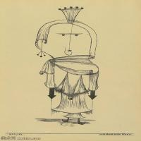 【欣赏级】YHR141112134-印象派画家保罗克利Paul Klee油画作品高清图片野兽派油画大师作品高清大图-4M-999X1453