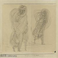 【欣赏级】YHR141112097-印象派画家保罗克利Paul Klee油画作品高清图片野兽派油画大师作品高清大图-7M-1980X1379
