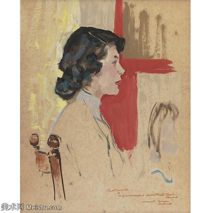 【欣赏级】ZSHR191111040-诺曼洛克威尔Norman Rockwell美国20世纪早期画家插画作品集插画作品高
