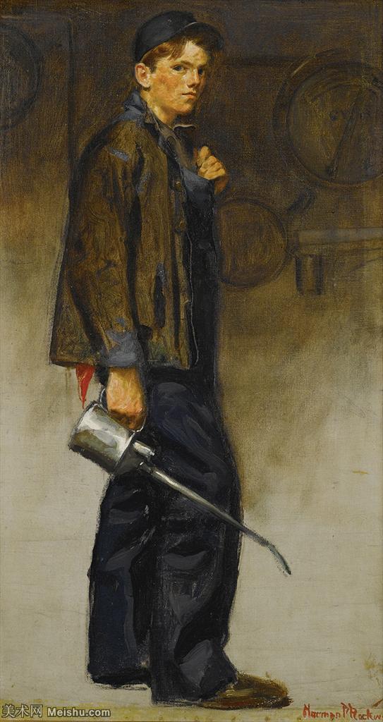 【打印级】ZSHR191111183-诺曼洛克威尔Norman Rockwell美国20世纪早期画家插画作品集插画作品高