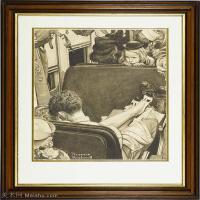 【打印级】ZSHR191111171-诺曼洛克威尔Norman Rockwell美国20世纪早期画家插画作品集插画作品高清图片-22M-2624X3000