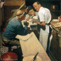 【印刷级】ZSHR191111223-诺曼洛克威尔Norman Rockwell美国20世纪早期画家插画作品集插画作品高清图片-43M-3878X3959