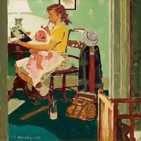 【打印级】ZSHR191111188-诺曼洛克威尔Norman Rockwell美国20世纪早期画家插画作品集插画作品高清图片-24M-2862X3000