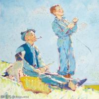 【打印级】ZSHR191111164-诺曼洛克威尔Norman Rockwell美国20世纪早期画家插画作品集插画作品高清图片-21M-2494X3000